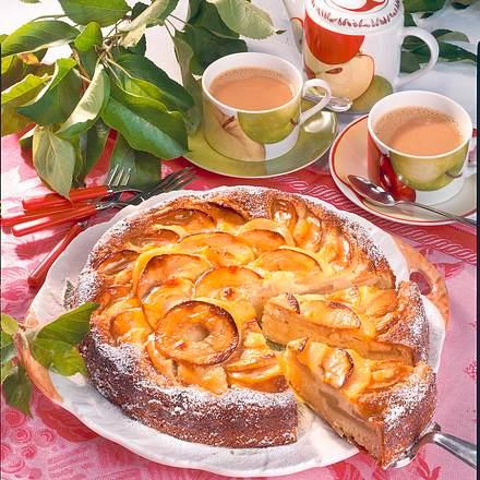 Apfelkuchen mit Vanille-Schmand Rezept