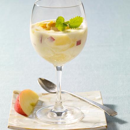 Apfelmousse mit Minze Rezept