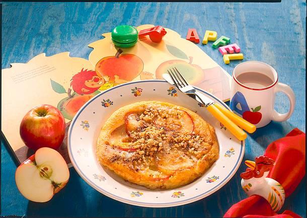 Apfelpfannkuchen Rezept