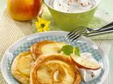 Apfelpfannkuchen mit Preiselbeeren Rezept