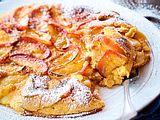 Apfelpfannkuchen mit Rumrosinen Rezept