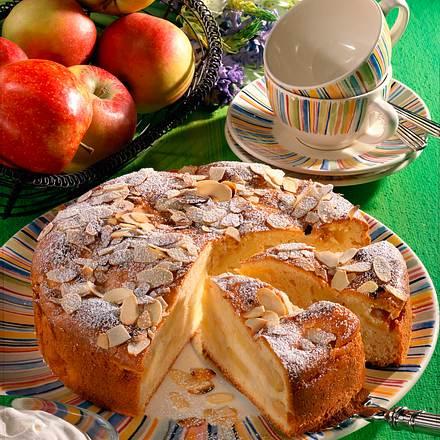Apfelschichtkuchen Rezept