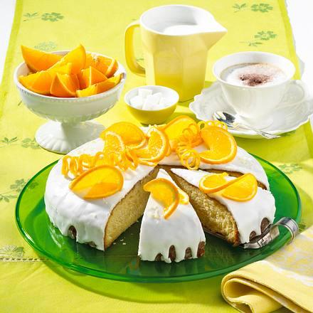 Apfelsinenkuchen Rezept