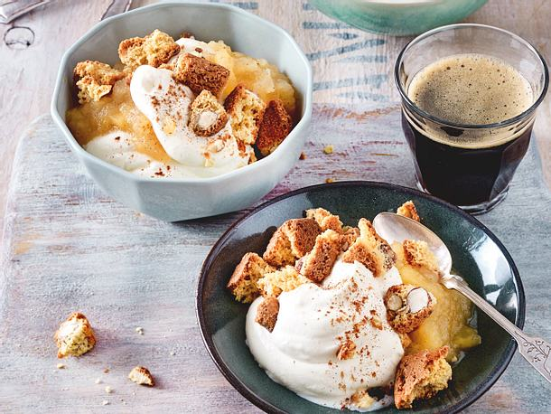 Apfelträumchen mit Cantuccini Rezept