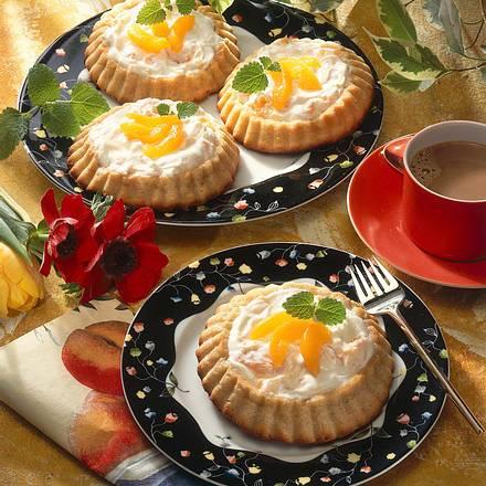 Apfrikosen-Quarktörtchen Rezept