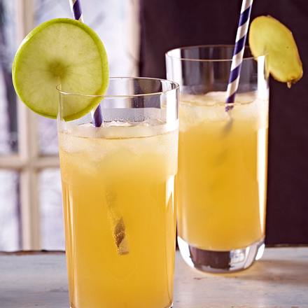 Apple and ginger fizz Rezept