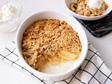 Apple-Crumble Rezept