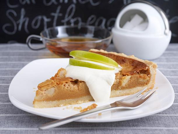 Apple-Toffee-Tarte Rezept