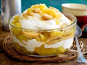 Apple Trifle Rezept