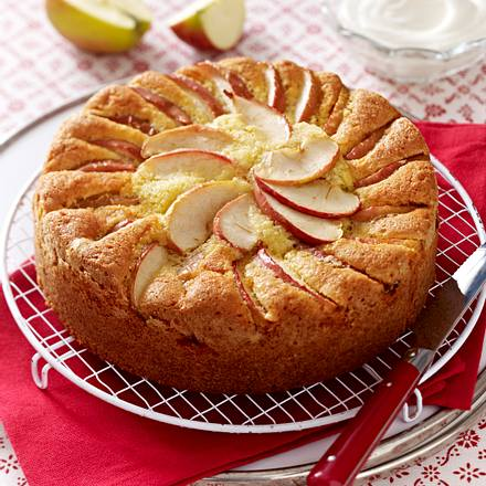Apple & Almond Cake Rezept