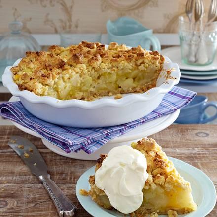 Apple Walnut Pie (Apfel-Walnuss-Butterstreusel-Kuchen) Rezept