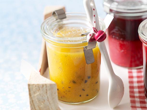 Aprikose-Maracuja-Konfitüre (kalt gerührt) Rezept