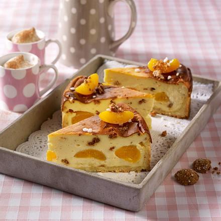 Aprikosen-Amaretto-Käsekuchen Rezept