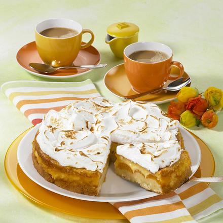 Aprikosen-Baiserkuchen Rezept