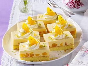 Aprikosen-Buttermilch-Schnitten Rezept