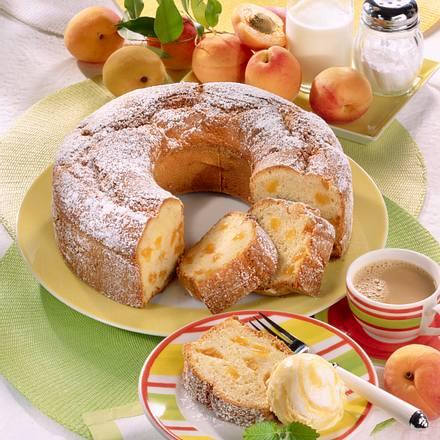 Aprikosen-Buttermilchkranz Rezept