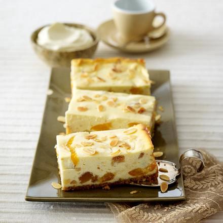 Aprikosen-Cantuccini-Käsekuchen Rezept