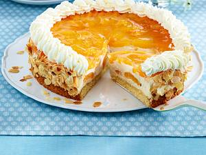 Aprikosen-Cappuccino-Torte Rezept
