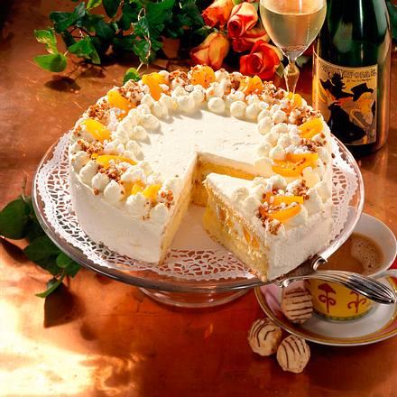 Aprikosen-Champagner-Torte Rezept