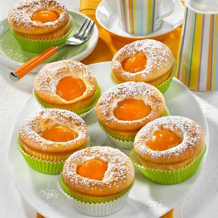 Aprikosen-Dickmilch-Muffins Rezept