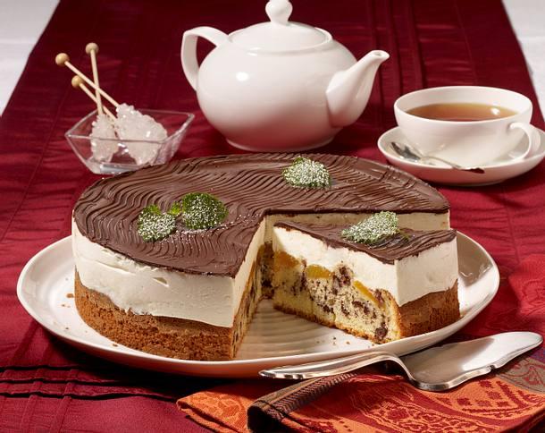 Aprikosen-Donauwellen-Torte  Rezept