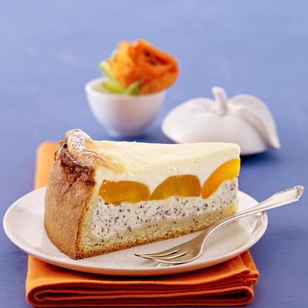 Aprikosen-Eierlikör-Kuchen mit Mohn Rezept
