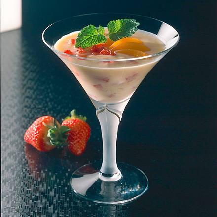 Aprikosen-Erdbeer-Drink Rezept