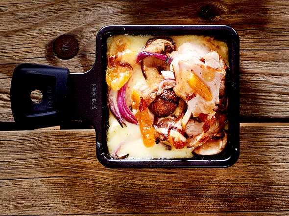 Aprikosen-Fleischsalat-Schmankerl