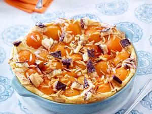 Aprikosen-Grieß-Auflauf Rezept