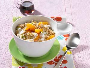 Aprikosen-Hafer-Müsli (Diät) Rezept