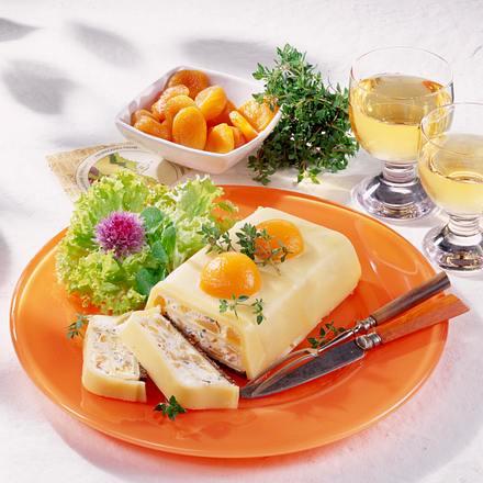 Aprikosen-Käse-Pastete Rezept