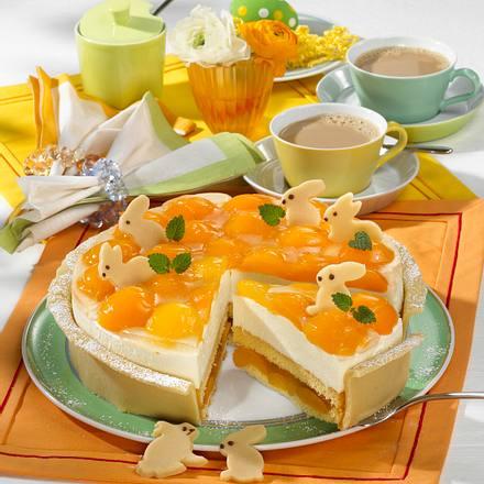 Aprikosen-Käse-Sahne-Torte Rezept
