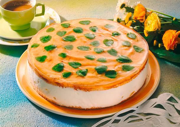 Aprikosen-Kefir-Torte Rezept