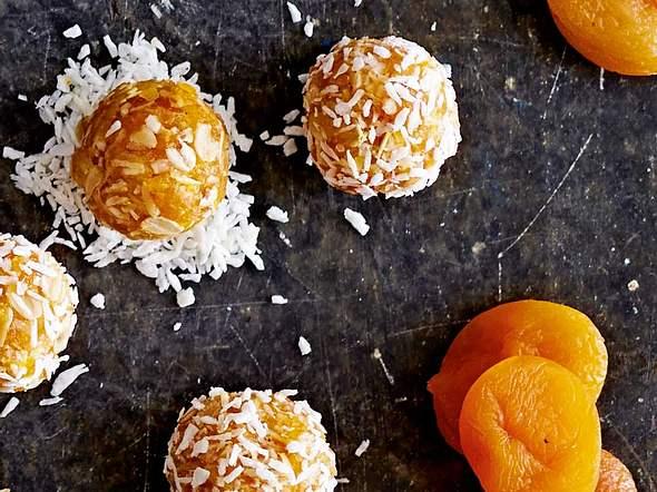 Aprikosen-Kokos-Balls Rezept