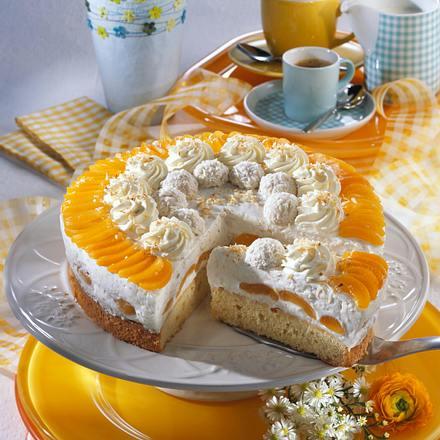 Aprikosen-Kokos-Torte Rezept