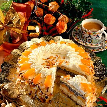 Aprikosen-Mohn-Torte Rezept