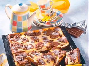 Aprikosen-Nougat-Schokoladen-Zupfkuchen Rezept