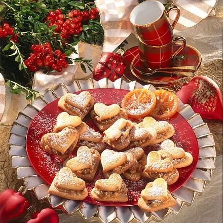 Aprikosen-Nuss-Herzen (Diabetiker) Rezept