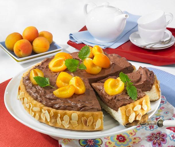 Aprikosen-Paradiescreme-Torte Rezept