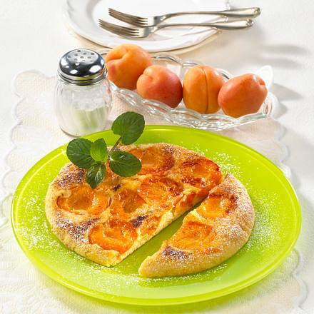 Aprikosen-Pfannkuchen Rezept