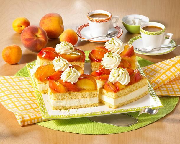 Aprikosen-Quark-Schnitten Rezept