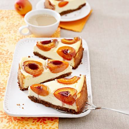 Aprikosen Ricotta Kuchen Rezept Lecker