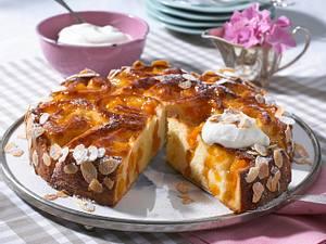 Aprikosen-Rosenkuchen Rezept