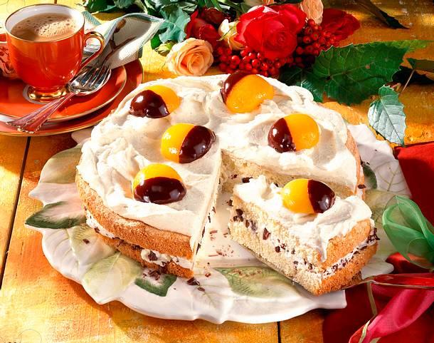 Aprikosen-Rum-Torte Rezept