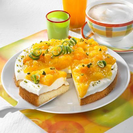 Aprikosen-Schichttorte (Diabetiker) Rezept