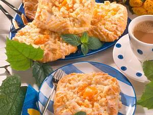 Aprikosen-Streusel-Teilchen Rezept