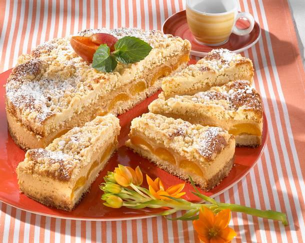 Aprikosen-Streusel-Torte Rezept