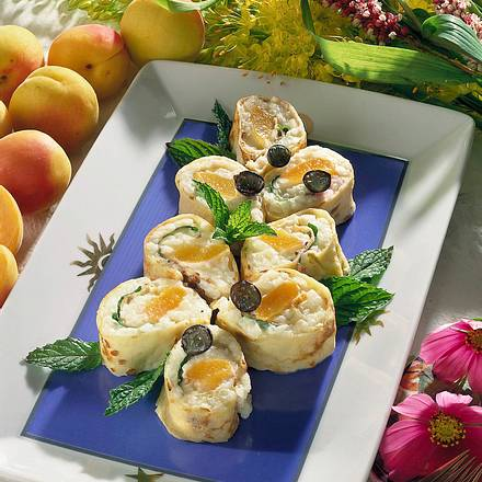 Aprikosen-Sushi Rezept