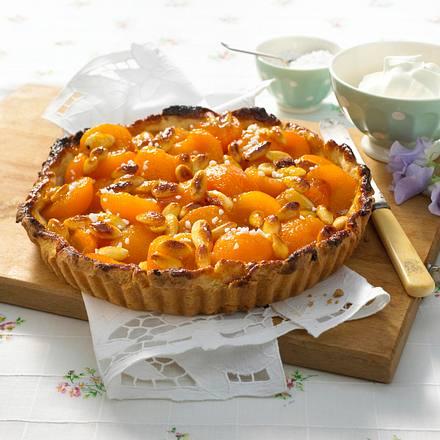 aprikosen tarte mit mandeln rezept chefkoch rezepte auf kochen backen und. Black Bedroom Furniture Sets. Home Design Ideas