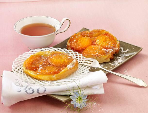 Aprikosen-Tarte-Tatin Rezept